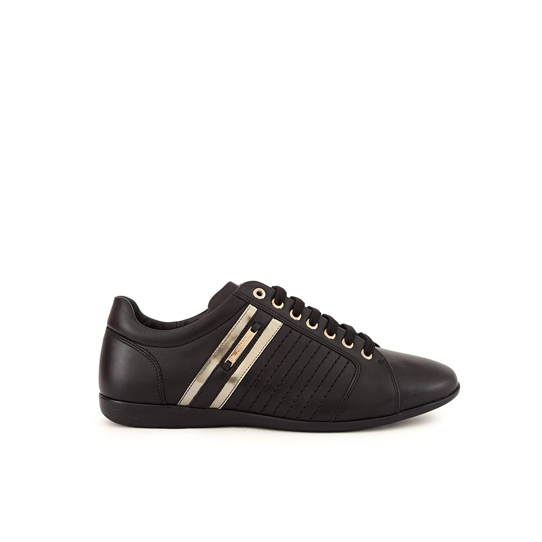 Amazon.com: Versace Collection VM00318 Mens Fashion Sneakers ...