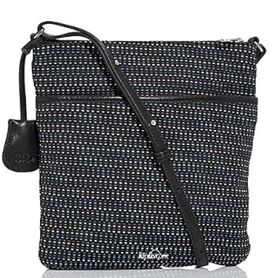 Kipling Womens Kotral J Jacquard Multigrain Shoulder Bag One Size