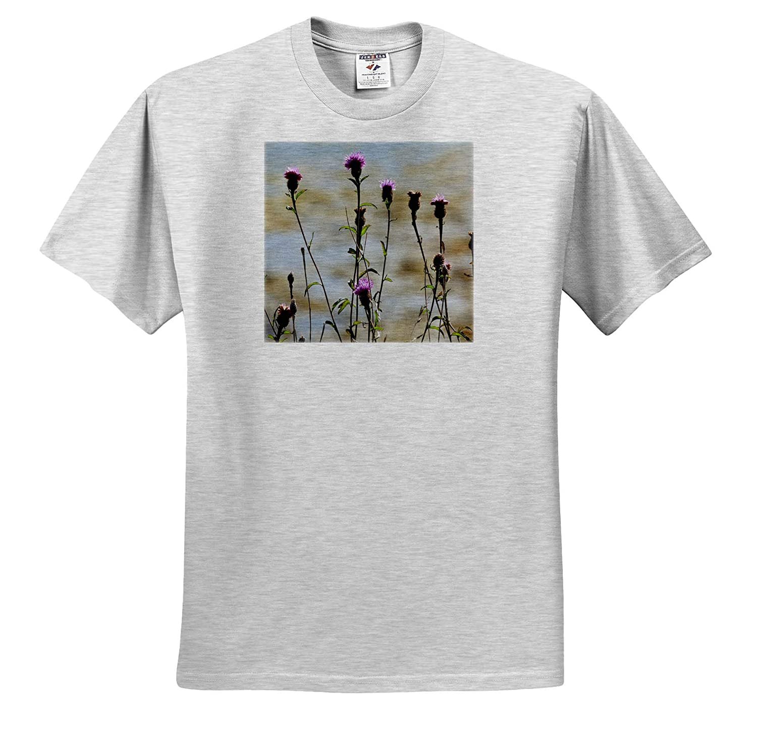 3dRose Made in The Highlands T-Shirts Highlands of Scotland Flower of Scotland Photograph The Thistle