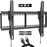 MOUNTUP Tilting TV Wall Mount Bracket for Most 37-70 Inches TVs, TV Mount with 10 Degrees Smooth Tilt, Low Profile TV…