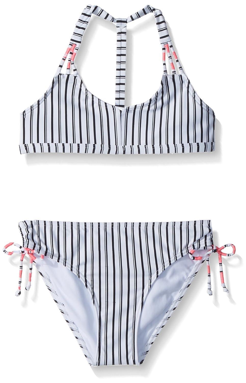 O'Neill Girls' Big Highway Stripe Triangle Bikini Set O' Neill SP8874002