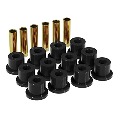 Prothane 7-1001-BL Black Rear Spring Eye and Shackle Bushing Kit: Automotive [5Bkhe0415704]