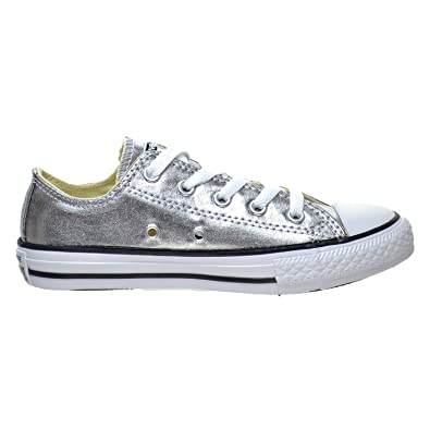 5a5fdeed7fc44a Image Unavailable. Image not available for. Color  Converse Chuck Taylor  All Star OX Low Top Little Kid s Shoes Metallic ...