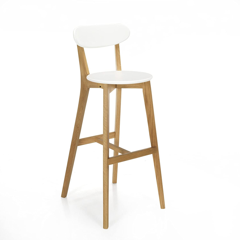 Bar Chair Siwa Scandinavian White Alinea 49 0 Design White