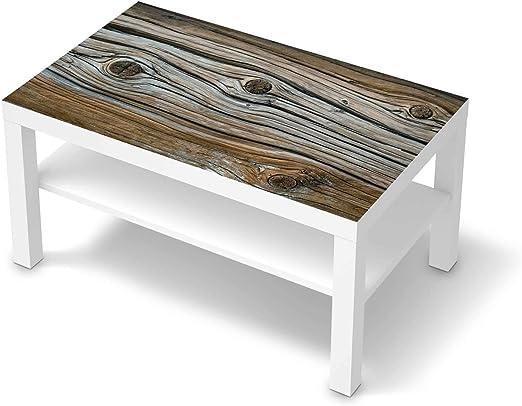 creatisto Wandtattoo Möbel passend für IKEA Lack Tisch 90x55 cm I Möbeldeko Möbel Sticker Aufkleber Folie I Innendekoration für Schlafzimmer und