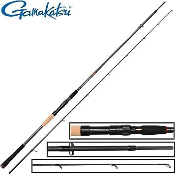 Gamakatsu akilas 80 x XH 2,40 m, 25 – 80 g – Caña para pescar ...