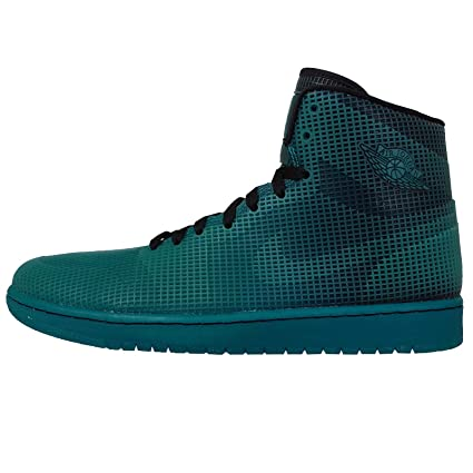 buy popular b209c 2d371 Image Unavailable. Image not available for. Color  Nike Air Jordan 4LAB1  Elements Series 677690-020 Black Tropical Teal Men s Shoes (