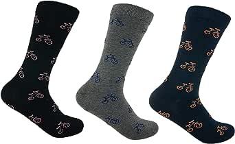 Trendcool x3 Calcetines Tobilleros Hombre. Calcetines Hombre Algodón. Pack 3 Calcetines Divertidos Talla 40-46 (M15)
