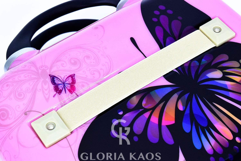 Valigetta Beauty Case Ultra Leggero In Policarbonato Flessibile Vanity Case Gloria Kaos