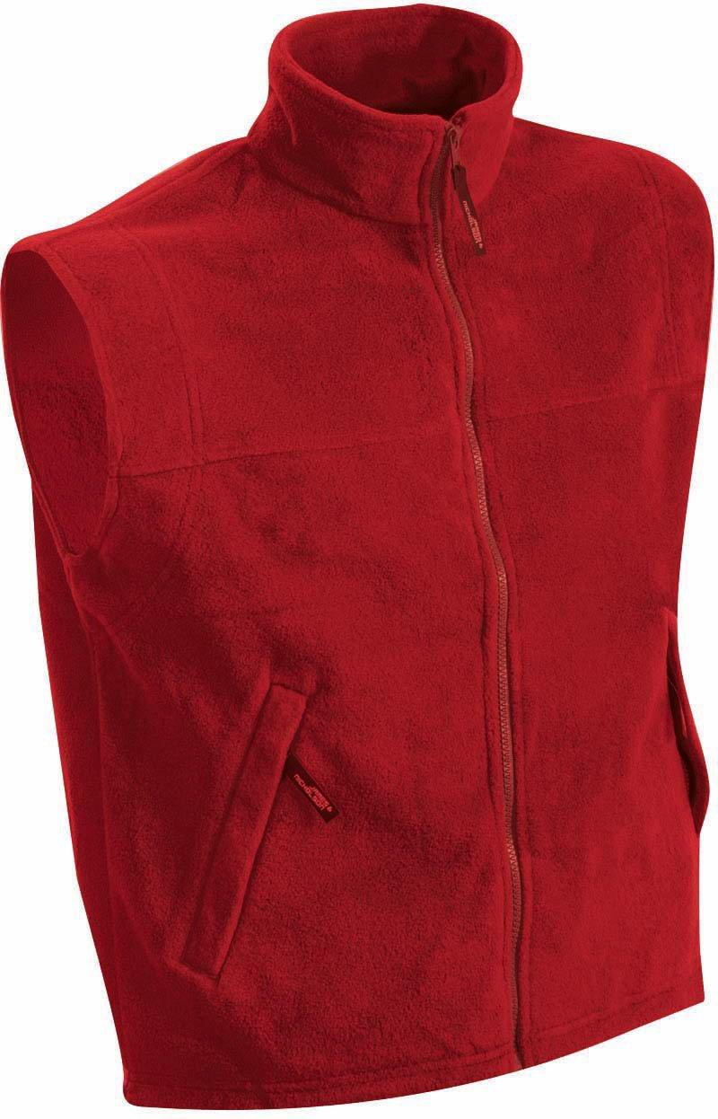 James /& Nicholson Fleece Vest S M L XL XXL 3XL 4XL JN 045