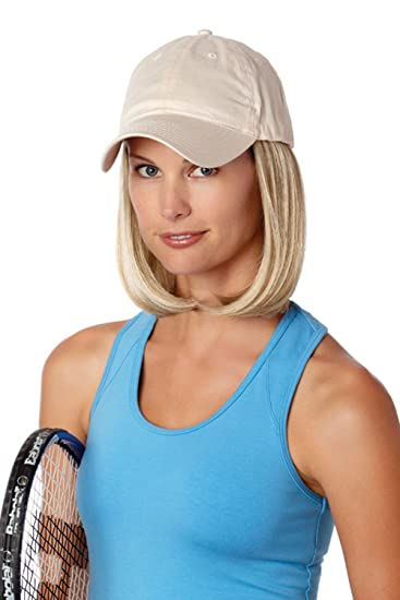 ff949d1db2c Amazon.com   Henry Margu Hair Accents Classic Beige Baseball Cap Wig (614H  - LIGHT WHEAT BLONDE   LIGHT GOLD BLONDE HIGHLIGHTS)   Hair Replacement Wigs    ...
