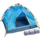 Semptec Urban Survival Technology Zelte: Automatik-Kuppelzelt für 3-4 Personen, 3.000/5.000 mm Wassersäule (Schnellaufbau-Zelt)