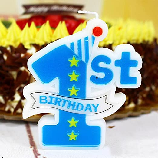 Amazon.com: Creationtop Velas de cumpleaños para recién ...
