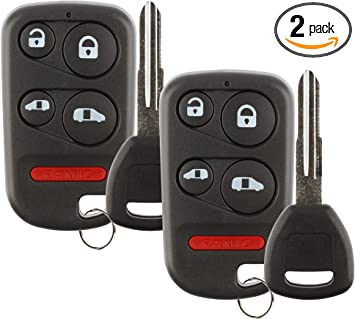 Pack of 2 KeylessOption Keyless Entry Remote Car Key Fob for OUCG8D-399H-A