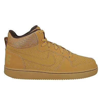 e449e5bebb Amazon.com | NIKE Boys' Court Borough Mid Print (GS) Basketball Shoe ...