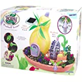 My Fairy Garden Windmill Terrace Solar Power Playset - Grow Your Own Magical Garden!