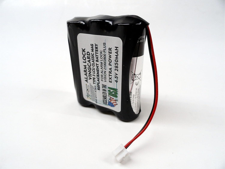 VingCard - 5 piezas tipo 3 LCU Classic Mag Batería de repuesto ...