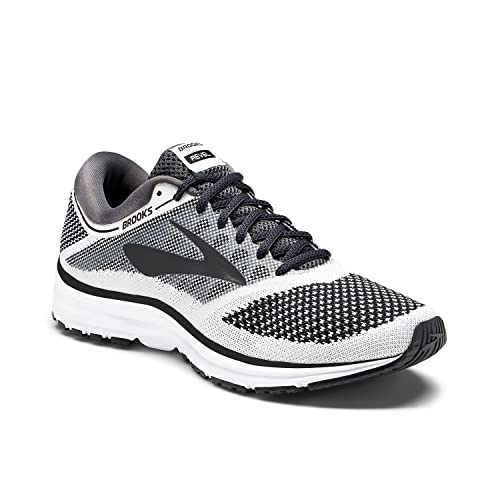 5f896ca8b82 Brooks Men s Revel White Anthracite Black Athletic Shoe  Buy Online at Low  Prices in India - Amazon.in