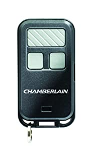 Chamberlain 956EV 3-button Garage Keychain Remote Control,1 Pack