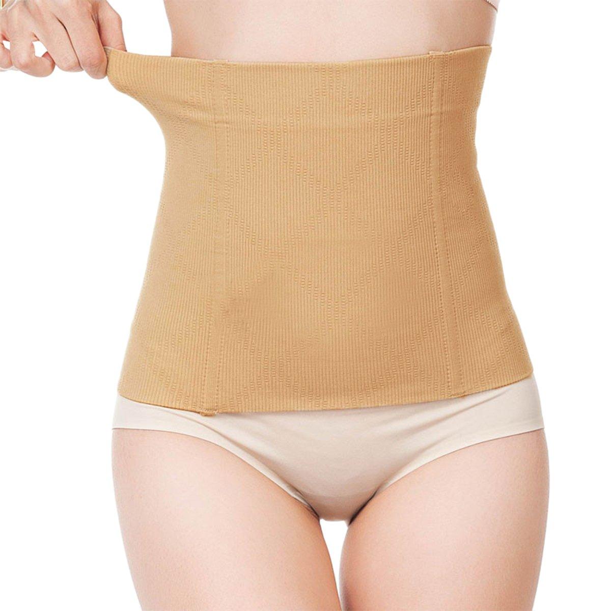 57db40d3fd0 Shymay Women s No Closure Waist Corset Cincher Boned Tummy Control Waist  Girdle at Amazon Women s Clothing store