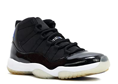 c7d3ee0151fe Air-Jordan Men s Jordan 11 Retro Clasic Space Jam Basketball Shoes US Size  9 Black