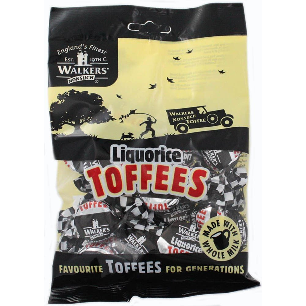 Walkers Nonsuch, Toffee Liquorice, 150-GM (12 Pack)