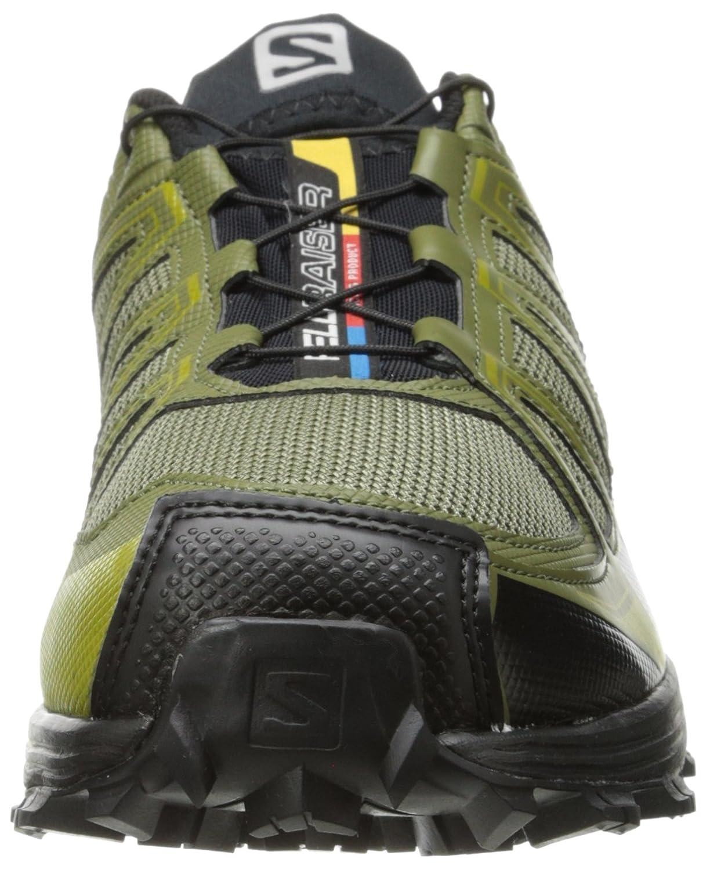 low priced 48b26 202d8 ... clearance salomon mens fellraiser trail running shoe nile green iguana  green corylus green 10.5 m us