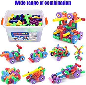 156-Pieces Dwawoo Water Pipe Building Block Toy
