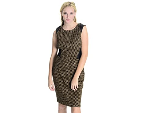 58adfb248c15 Amazon.com: Weston Wear Women's Isela Ponte Knit Sheath Dress in ...