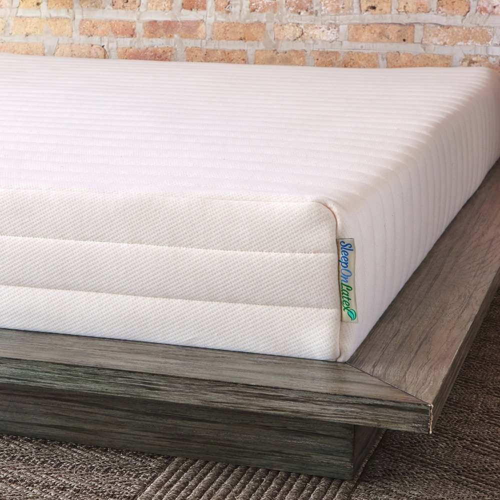 amazon com pure green natural latex mattress medium firmness