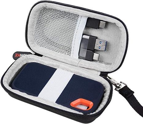 Duro Viaje Caso Case Funda para SanDisk Extreme Portable SSD 250 ...