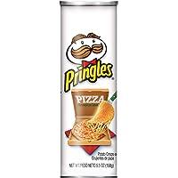 PringlesPotato Crisps Chips, Pizza Flavored, 5.5 oz Can