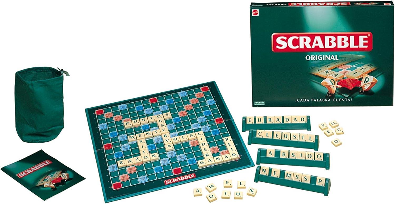 Juegos Mattel 51280 - Scrabble Original, Juego de Mesa: Amazon.es: Juguetes y juegos