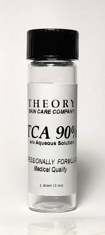 Trichloroacetic Acid 90% TCA Chemical Peel, 1 DRAM, Medical Grade, Wrinkles, Fine Lines, Freckles, Scars, Age spots