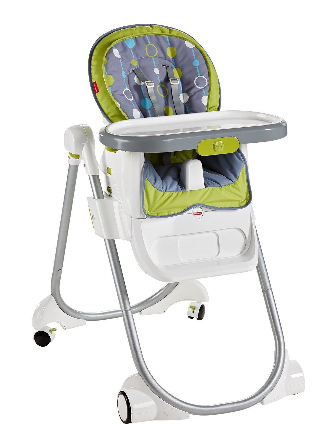 amazoncom  fisherprice in total clean high chair green  - amazoncom  fisherprice in total clean high chair greengray  baby