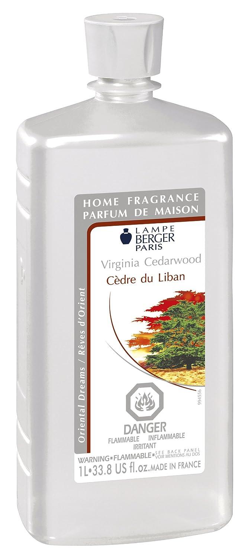 Lampe Berger 1L / 33,8-Fluid Ounces VIRGINIA CEDARWOOD Parfum De Maison 416021