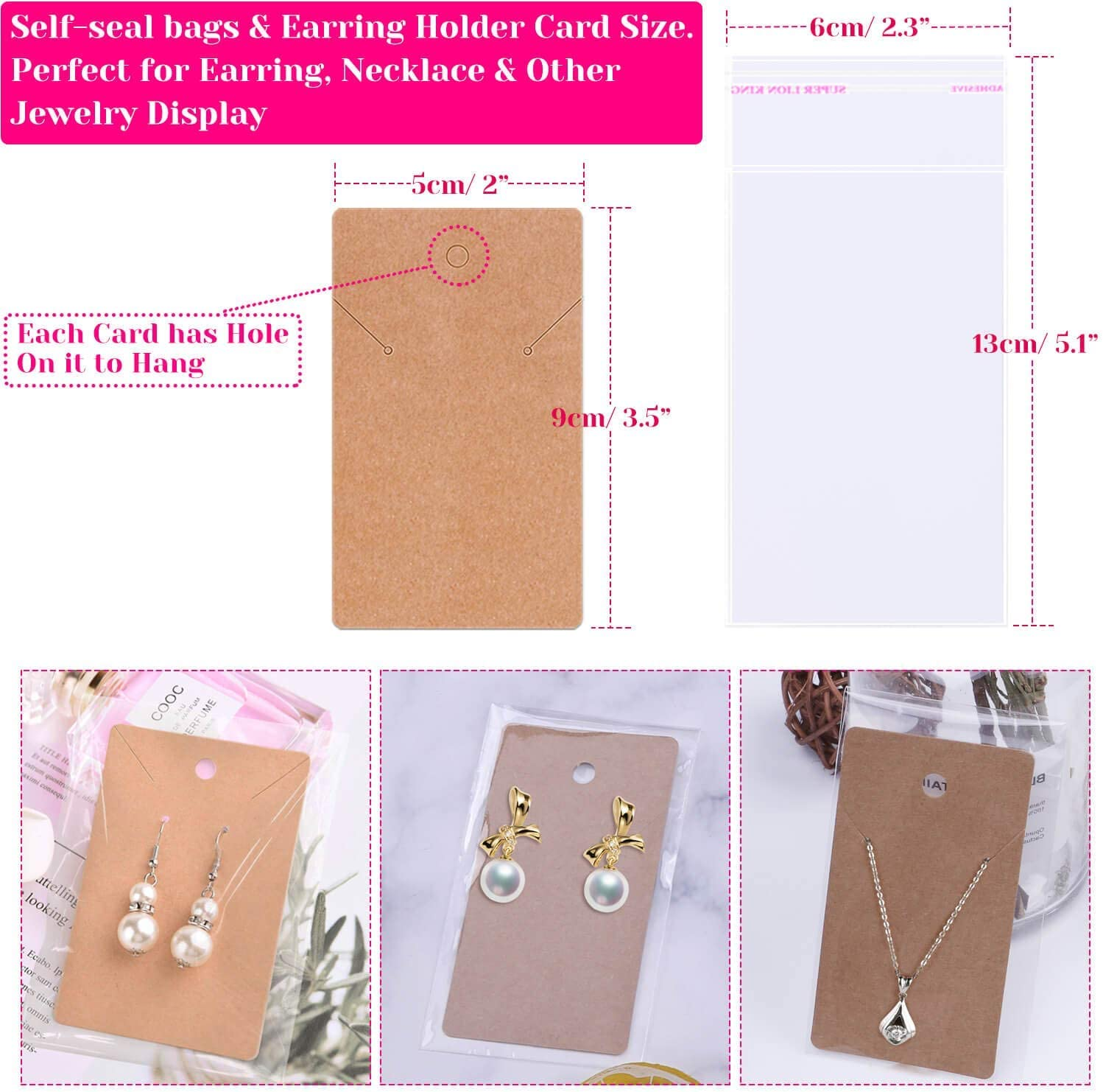 Jump Rings Earrings Holder Cards and Clear Bags for DIY Earring Supplies and Earring Findings Pliers Earring Backs Earring Making Supplies,1350pcs Earring Making Kit with Earring Hooks