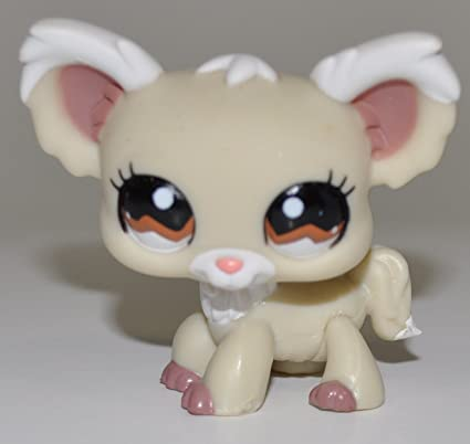Collector Toy Loose Hasbro Brown Eyes Chihuahua #1138 Retired LPS Collectible Replacement Single Figure - Littlest Pet Shop OOP Out of Package /& Print
