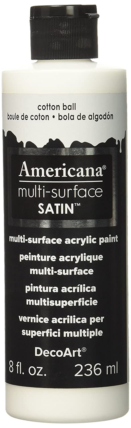 Decoart Multi-Surface Satin paint, Cotton Ball