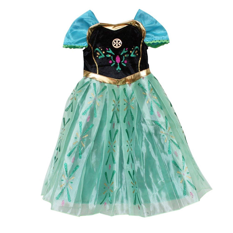 Amazon.com: Frozen Princess Anna Costume Anna Dress Size 2T: Clothing