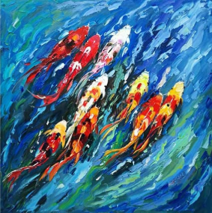 Amazon Com Sumianyh Hand Painted Oil Painting Abstract
