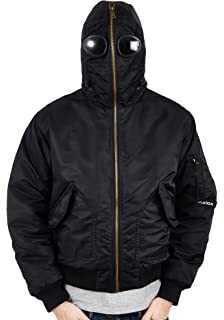 a82650ee5c326 Location Mens Galactic Airmans Waterproof Goggle Jacket Military Hooded Coat