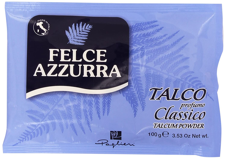 Felce Azzurra - Talco, Profumo Classico - 100 G Paglieri Italy