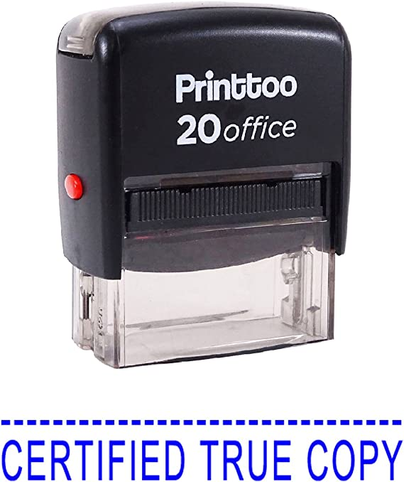 Printtoo Self Inking Rubber  Office Stationary CONFIRMED Custom Stamp-PRSS81
