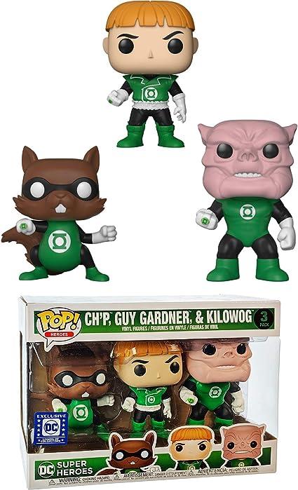 /& Kilowog DC Heroes Funko POP Vinyls New in Box Ch/'p Guy Gardner