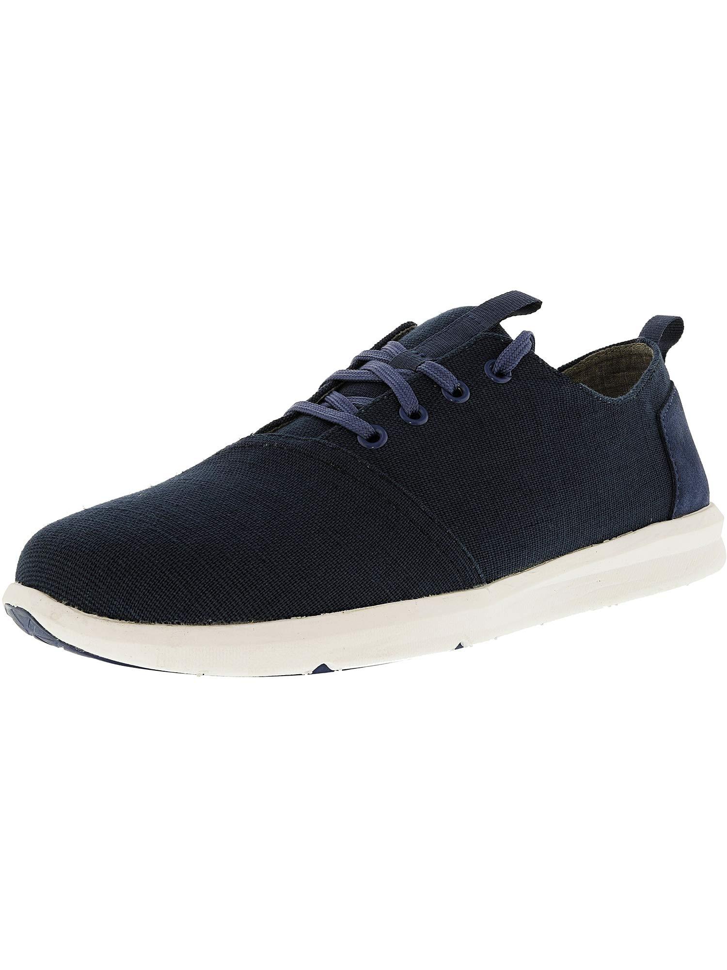 0ab51369078 Galleon - TOMS Men s Del Rey Navy Burlap Sneaker 8 D (M)