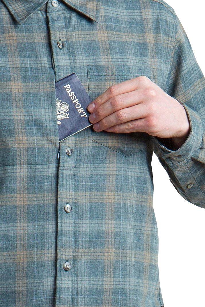 ExOfficio Mens Okanagan Macro Check Long Sleeve Shirt