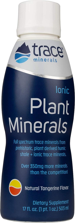 Trace Minerals Liquid Ionic Plant Minerals Supplement, 17 Ounce.