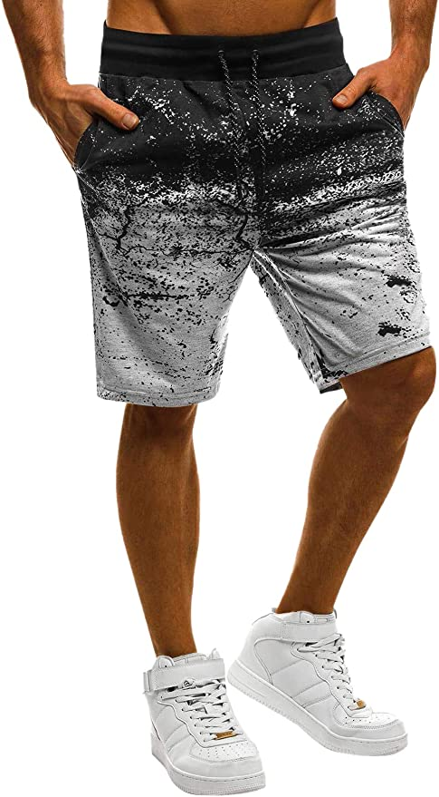 GYM M L XL MSRP $24.99 NEW MEN/'S CASUAL JERSEY KNIT SHORTS LOUNGING POCKETS