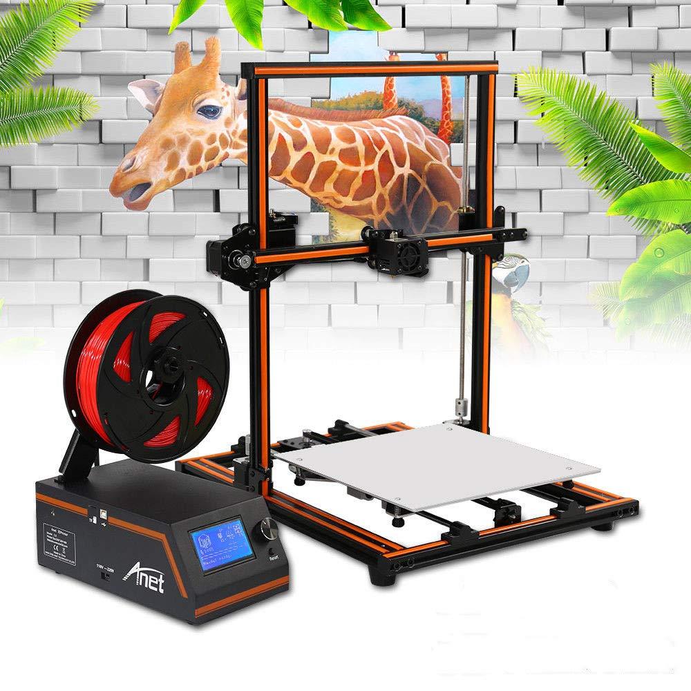 DiLiBee Les Kits d'impression 3D E12,40-120MM / S impriment Plus Rapidement la Vitesse 3D de la Machine 30x30x40cm de Bureau de DIY